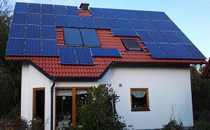 Solartechnik, ref_pv, Photovoltaik, Deutschland, Boos, Aufdachanlage, 12,6kWp