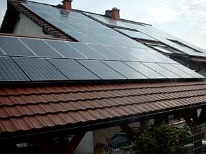 Solartechnik, ref_pv, Photovoltaics,  Germany, Bretten , Roof-mounted system 1,71kWp