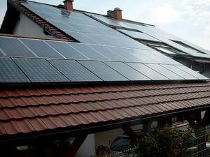 Solartechnik, ref_pv, Photovoltaik,  Deutschland, Bretten , Aufdachanlage 1,71kWp