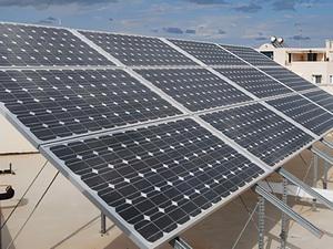 Solartechnik, ref_pv, Photovoltaik,  Griechenland, Athen, Flachdachanlage, 2,7kWp