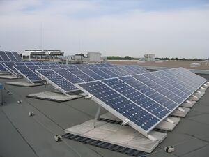 Solartechnik, ref_pv, Photovoltaics,  Bulgaria, Saedinenie, Flat roof mounted system, 10kWp