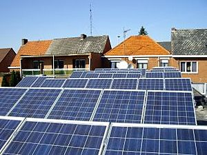 Solartechnik, ref_pv, Photovoltaics,  Belgium, Mol, Flat roof mounted system, 11,9kWp