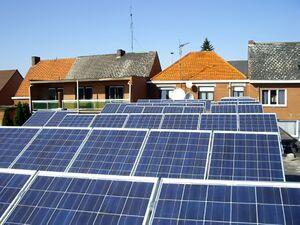 Solartechnik, ref_pv, Photovoltaik,  Belgien, Mol, Flachdachanlage, 11,9kWp
