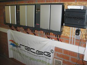 Solartechnik, ref_pv, Photovoltaics,  Belgium, Mol, Flat roof mounted system, 11,9kWp