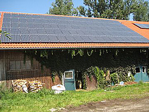 Solartechnik, ref_pv, Photovoltaics,  Germany, Leutkirch, Roof-mounted system, 20kWp