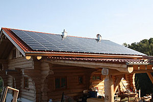 Solartechnik, ref_pv, Photovoltaics,  Germany, Deggendorf, Roof-mounted system, 9,3kWp