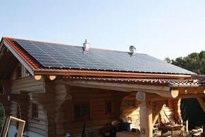 Solartechnik, ref_pv, Photovoltaik,  Deutschland, Deggendorf, Aufdachanlage, 9,3kWp