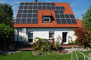 Solartechnik, ref_pv, Photovoltaics,  Germany, Illertissen, Roof-mounted system, 7,8kWp