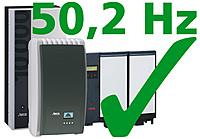Wechselrichter, 50,2 Hertz-Problematik