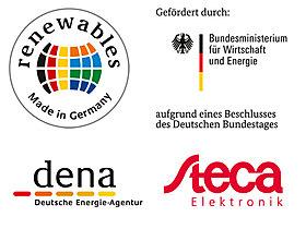 German, Energy Agency, GmbH, dena, Steca, Federal Ministry, economy, energy, renewables